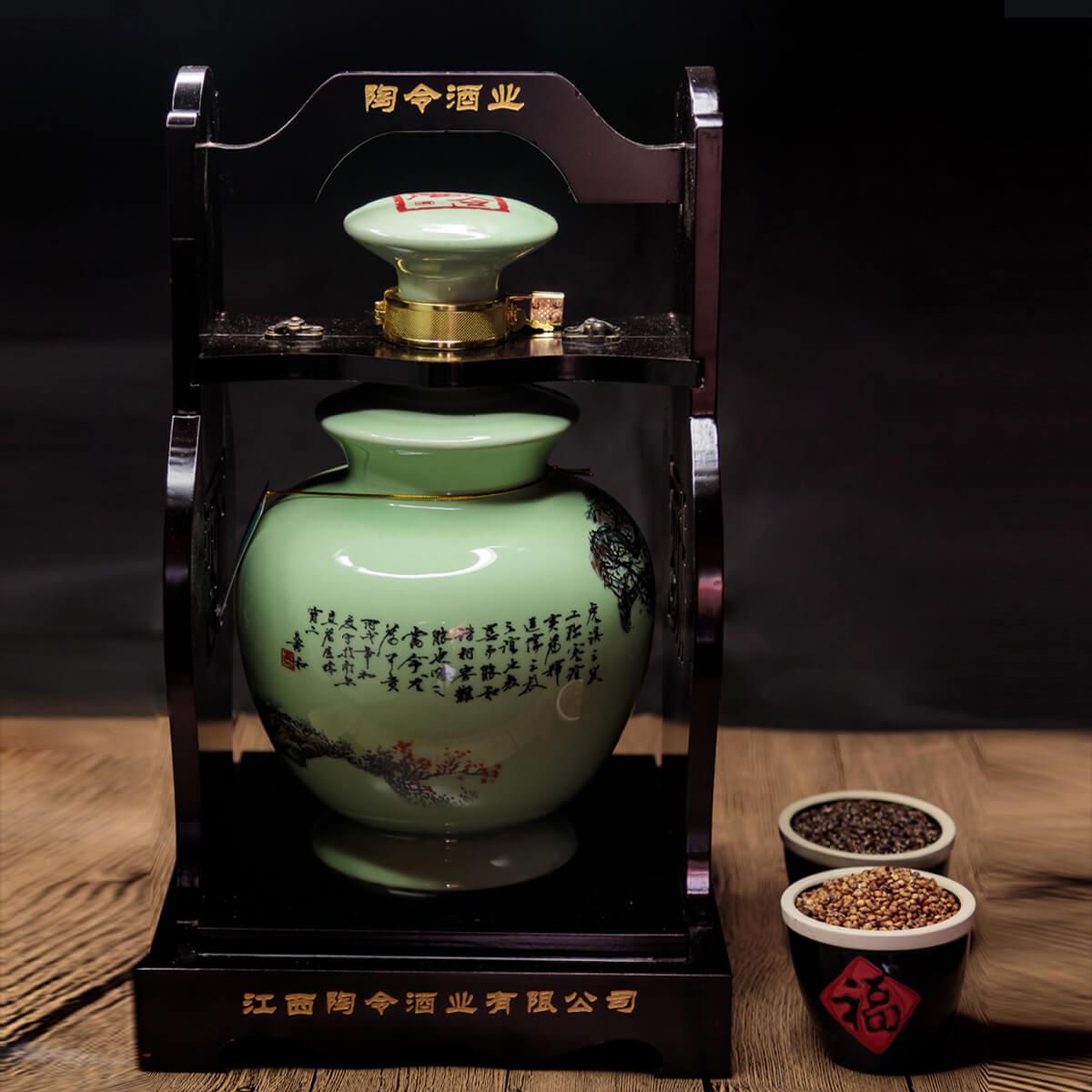陶令52度十五年窖藏 5斤壇裝典藏版